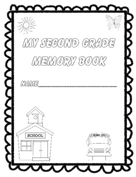 Second Grade Memories: An End-of-the-Year Project! Updated