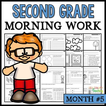 Month #5 Morning Work: Second Grade Morning Work