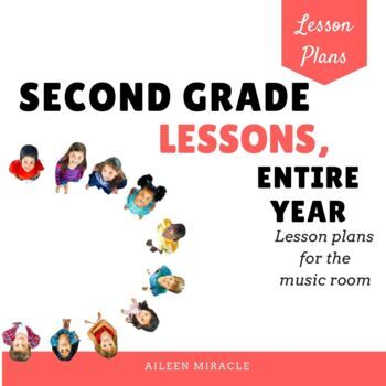 Second Grade Music Lessons {Entire Year}