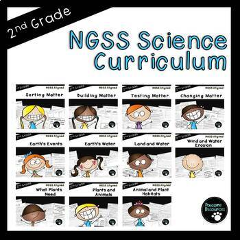 Second Grade NGSS Aligned Science Curriculum