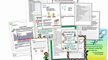 Second Grade Physical Science Bundle