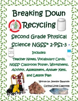 Second Grade Physical Science -Recycling