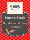 Second Grade Non-Fiction Writing Exemplar