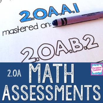 Math Assessments - Second Grade Operations