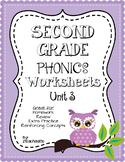 Second Grade Phonics Unit 3 Worksheets