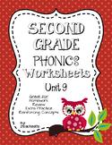 Second Grade Phonics Unit 9 Worksheets