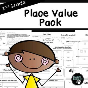 Second Grade Place Value Resource Pack