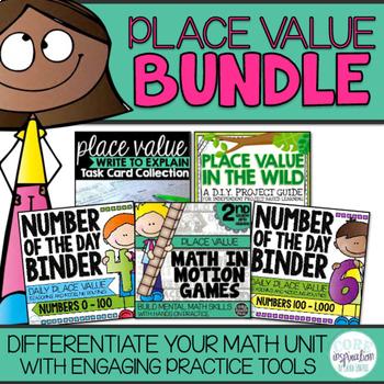 Second Grade Place Value Unit Bundle