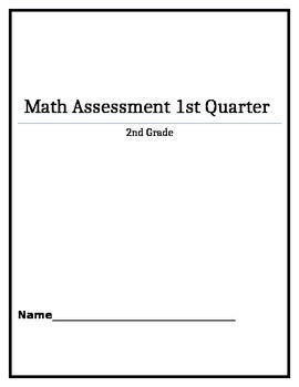 Second Grade Quarter 1 Assessment