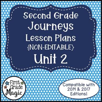 Second Grade Lesson Plans Journeys Unit 2