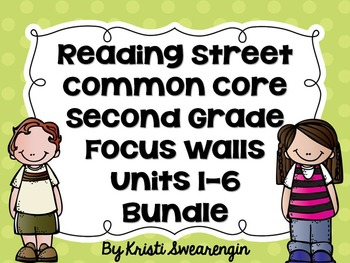 Second Grade Reading Street Focus Wall Complete Bundle (Un