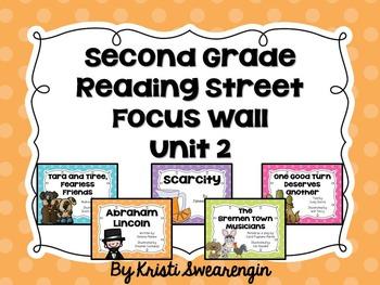 Second Grade Reading Street Focus Wall Unit 2