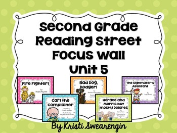 Second Grade Reading Street Focus Wall Unit 5