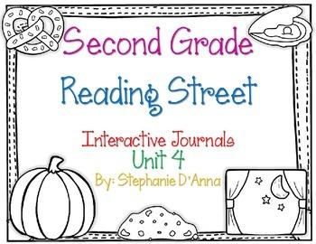Second Grade Reading Street Interactive Journals Unit 4