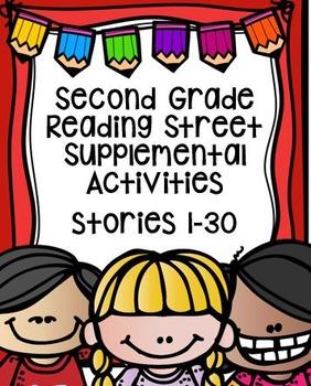 Second Grade Reading Street Supplemental Activities Bundle