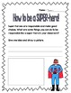 {Second Grade SUPER-heroes!} A Back-to-School Character Ed