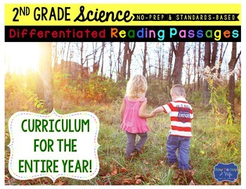 Second Grade Science Differentiated Reading Passages
