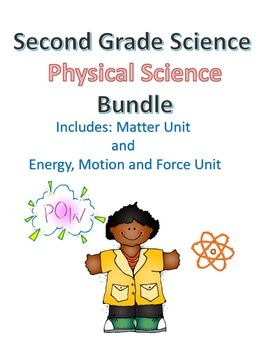 Second Grade Science Physical Science Bundle