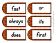 Second Grade Sight Words Dolch Word Tags for Reading Liter