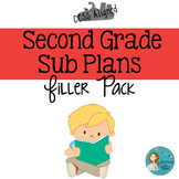 Second  Grade Sub Plans Filler Pack