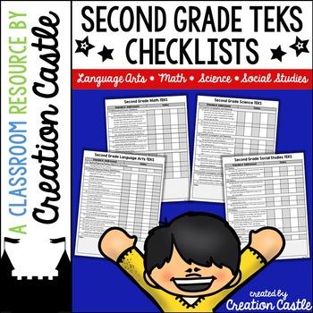 Second Grade TEKS Checklists