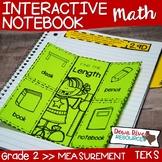 Second Grade TEKS Interactive Notebook: Measurement (Lengt