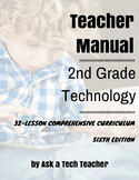 Second Grade Technology--5th edition: 32 Lessons Every Sec