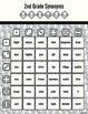 Second Grade Vocabulary Dice Game (Synonyms, Antonyms, and