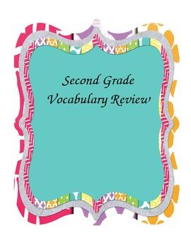 Second Grade Vocabulary Review