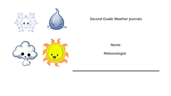 Second Grade Weather Journal