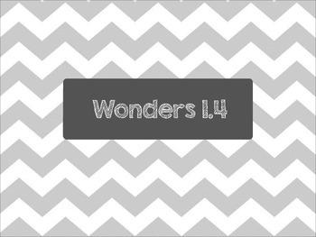 Second Grade Wonders Unit 1 Week 4 Spelling Words