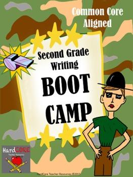 Second Grade Writing BOOT CAMP {Common Core W.2.1 W.2.2 W.2.3}