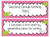 Second Grade Writing TEKS Cards