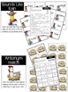 Second Grade Year-in-Review Word Work Literacy Centers