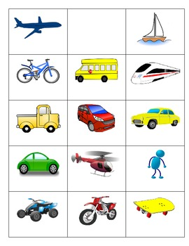 Second Language Transportation Part 1 of 3: - games and vo