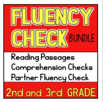 Second Third Grade Reading Passages Fluency Comprehension Bundle