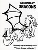 Secondary Color Dragon Worksheet