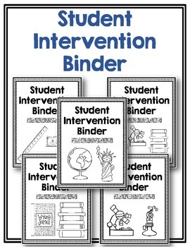 Intervention Binder ~ Secondary