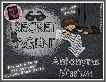 Secret Agent - ANTONYMS Mission
