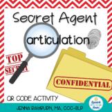 Secret Agent Articulation: QR Code Activity