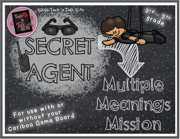 Secret Agent - MULTIPLE MEANINGS Mission