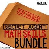 Secret Agent Math Bundle