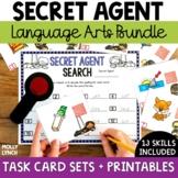 Secret Agent Language Arts Bundle