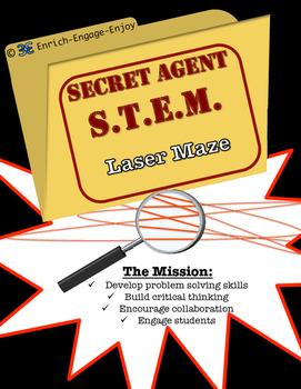 Secret Agent STEM STEAM Mission: Laser Maze