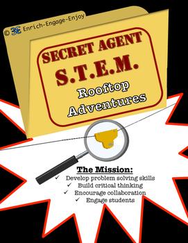 Secret Agent STEM STEAM Mission: Rooftop Adventures
