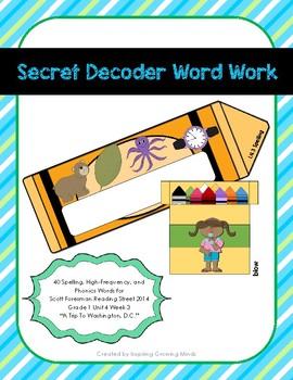 Secret Decoder Word Work Scott Foresman Reading Street Gra