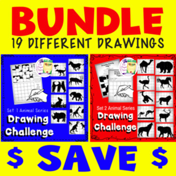 Secret Drawing Lesson 1 and 2 - Bundle  - Sub - Free Time