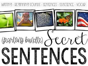 Secret Sentences BUNDLE
