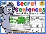 Secret Sentences **UK version** (60 pages) Whimsy Workshop