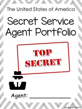 Secret Service Agent Application - Writing/Craftivity (Pre